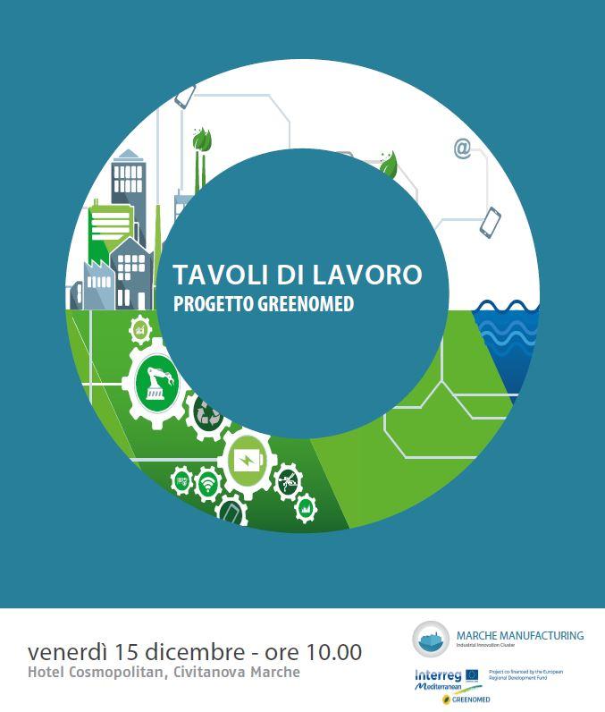 Save the date programma tavoli di lavoro progetto for Marche tavoli